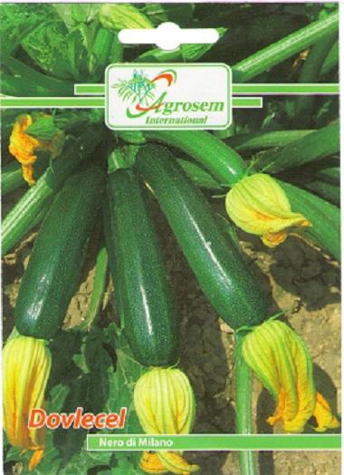 Seminte legume - Dovlecel Nero Di Milano