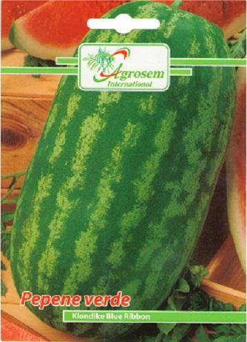 Seminte legume - Pepene Verde Klondike Blue Ribbon