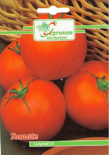 Seminte legume - Tomate Campbell 33