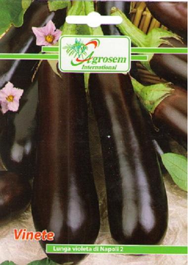 Seminte legume - Vinete Lunga Violeta Di Napoli 2